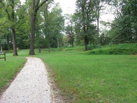 Modern View of Fort Brady, Richmond National Battlefield