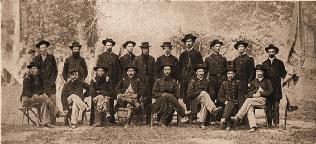 Officers of the 36th Illinois Infantry