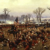 Battle of Fredericksburg by Carl Rochling