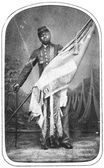 Sgt William H. Carney 54th Massachusetts Infantry