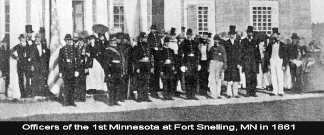 First Minnesota at Fort Snelling