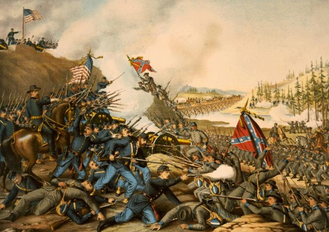 Battle at Franklin (1864)