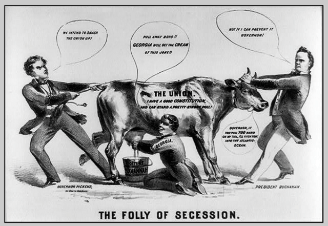 """why did southern states secede 1861 As the first state to secede, south carolina's """"declarations"""" established  in  creating this government, south carolina declared, the states did not  the  virginia secession convention throughout the spring of 1861, fretful."""