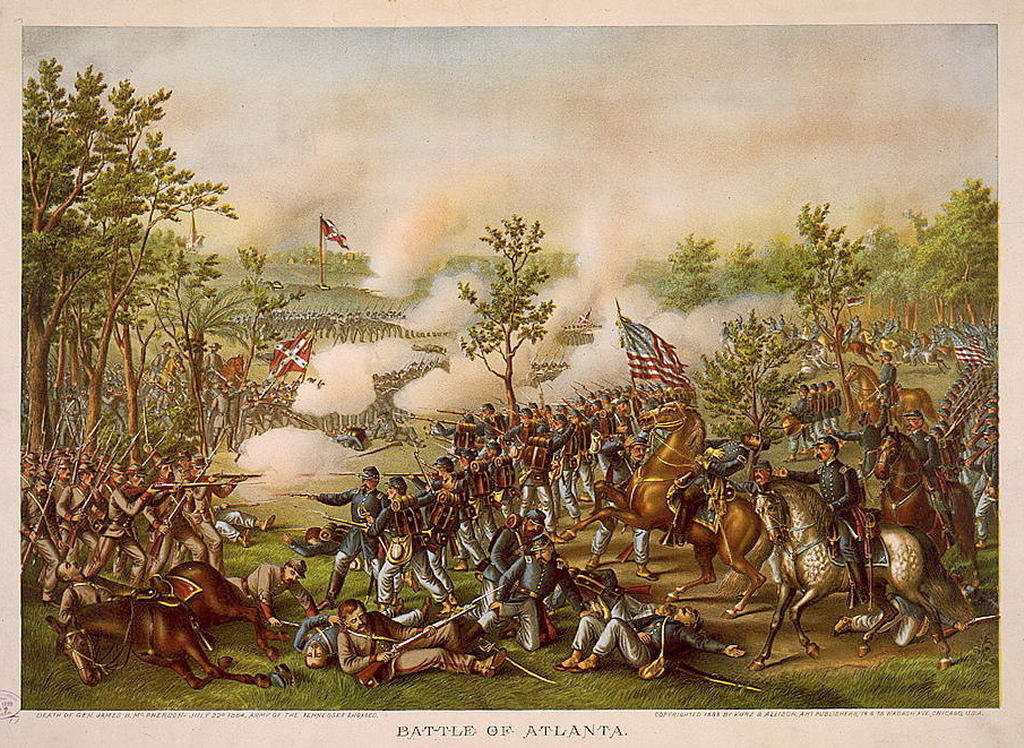Battle of Atlanta by Kurz and Allison