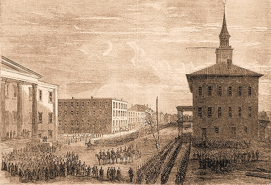 Sherman's Army Entering Savannah
