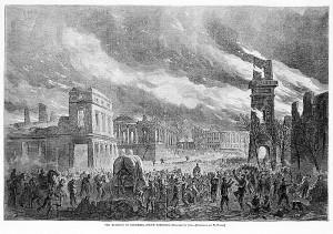 Burning of Columbia