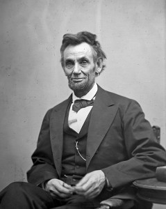 Abraham Lincoln in February 1865