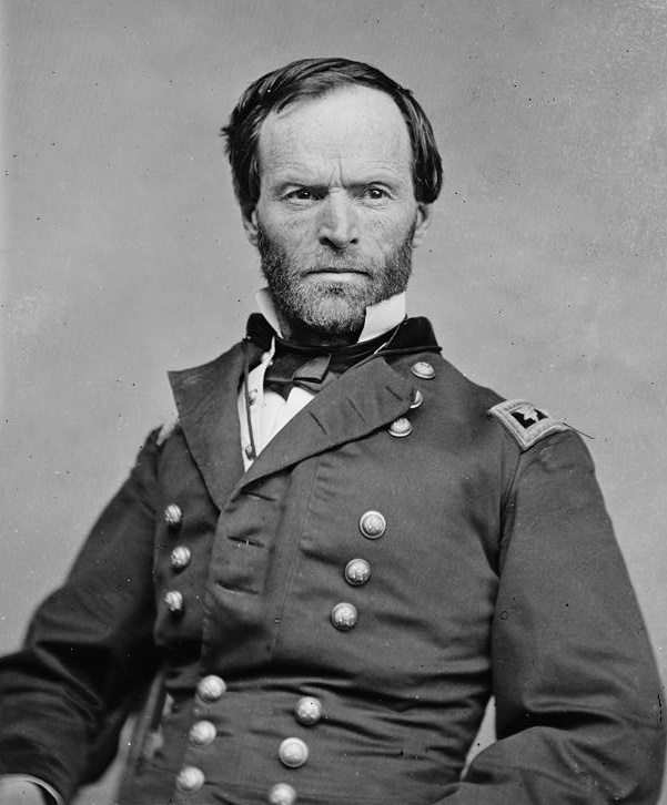 William T Sherman In Battle