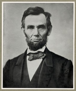 Abraham Lincoln in 1863