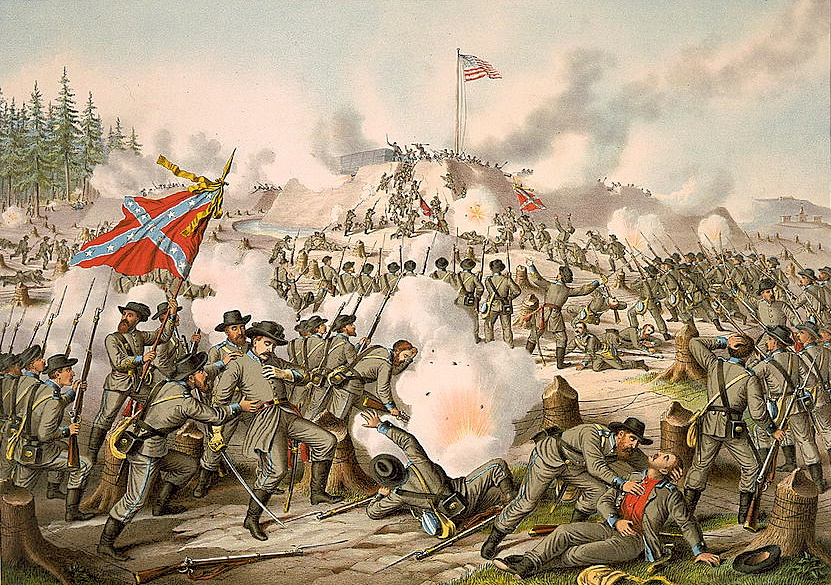 Assault on Fort Sanders by Kurz and Allison