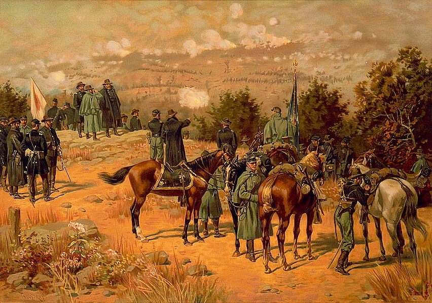 Battle of Chattanooga by Thure de Thulstrup