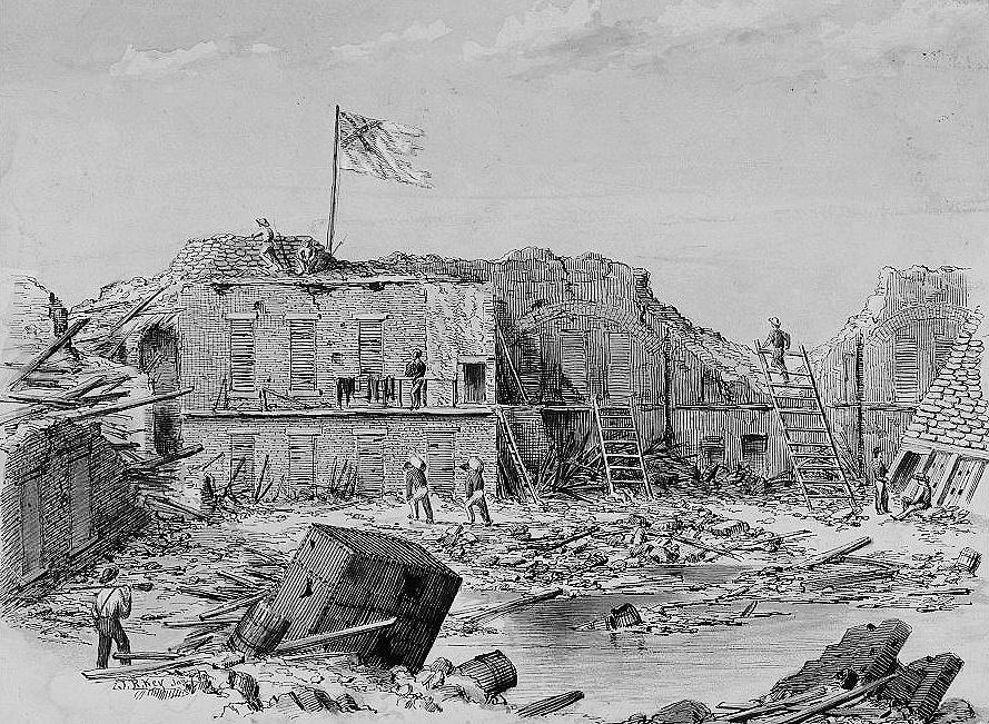 Fort Sumter December 9 1863