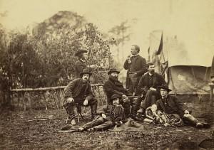 Union Army Engineers at Brandy Station VA January 1864