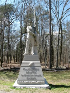 10th Wisconsin Infanty Monument Chickamauga