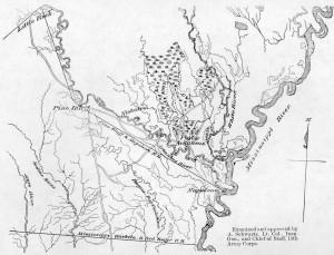Arkansas Post Area Map