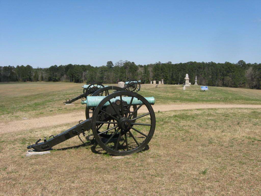 Union Artillery on Snodgrass Hill Chickamauga NMP