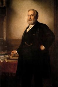 Benjamin Harrison Official White House Portrait