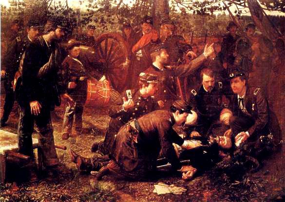 Death of Gen John Sedgwick