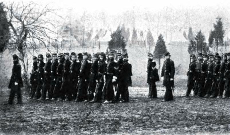 Men of the 1st Vermont Brigade