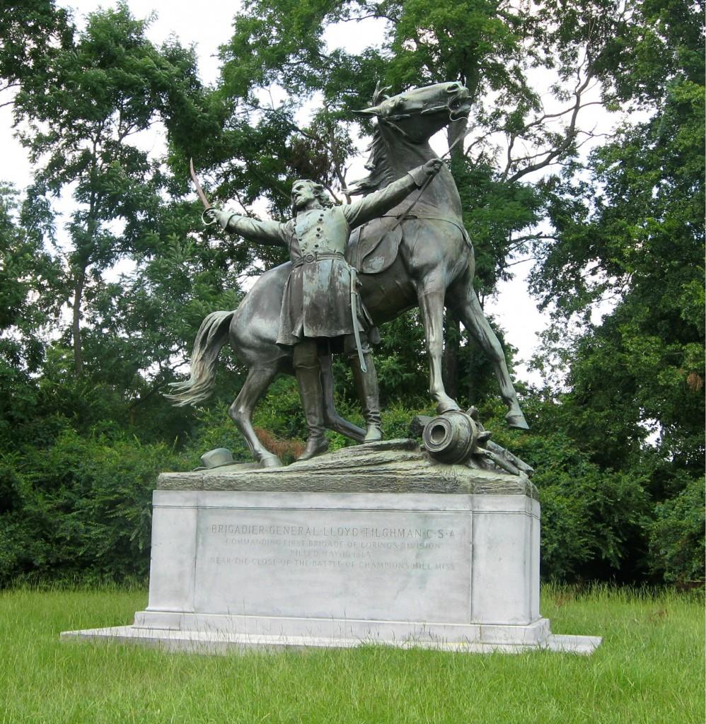 Gen Lloyd Tilghman Statue Vicksburg National Military Park
