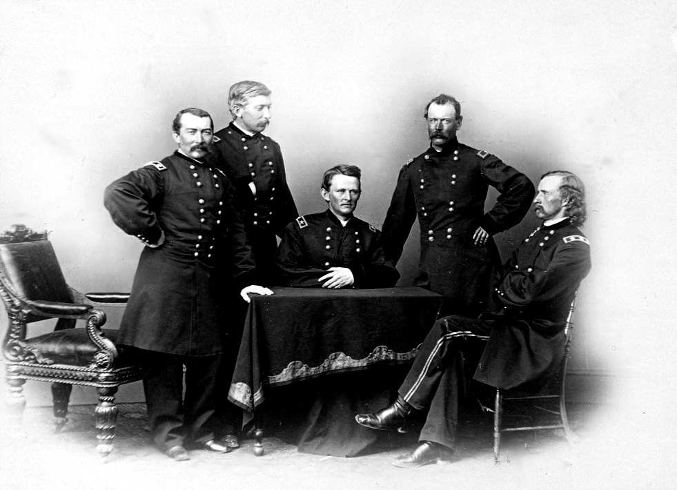 Generals of the Army of the Potomac's Cavalry Corps