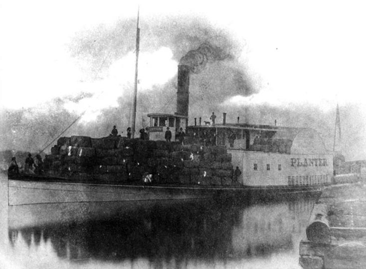 Steamer Planter