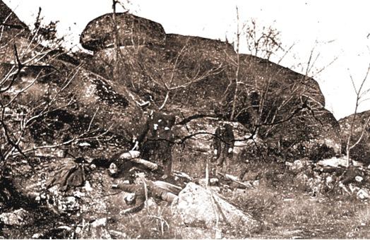 Dead on Little Round Top Gettysburg