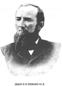 Sgt. N.B. Stewart 52nd Ohio Infantry