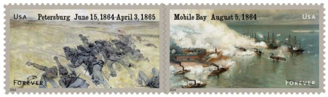 2014 Civil War Commemorative Stamps