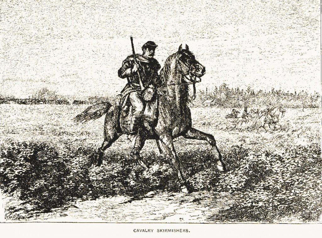 Cavalry skirmishers