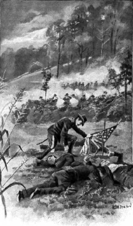 Lt Charles Tanner Saves the Flag