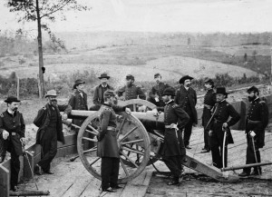 Gen Sherman and Staff at Atlanta