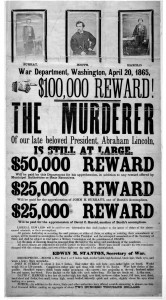 John Wilkes_Booth wanted poster