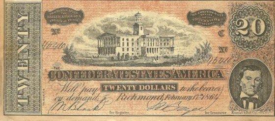 CSA $20 bill