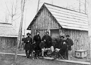 Officers of the 50th New York Engineers