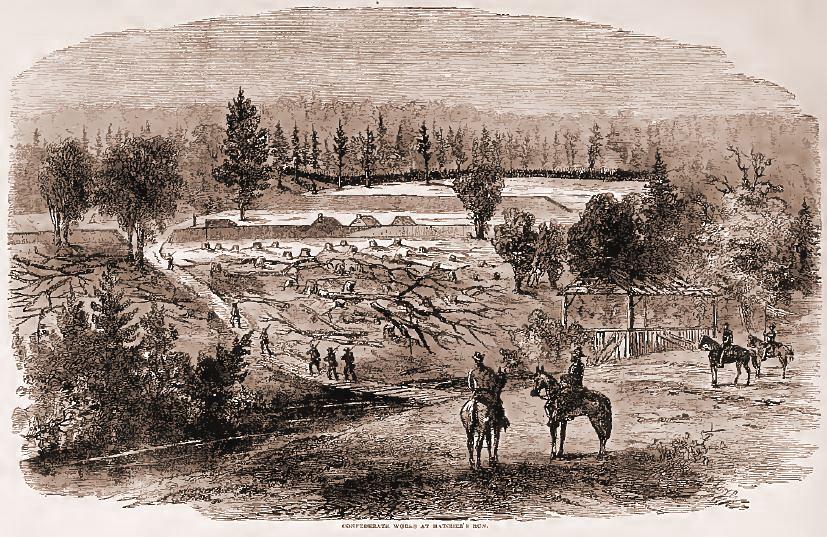 Confederate Works at Hatcher's Run