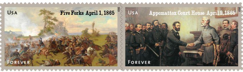 2015 Civil War Commemorative Stamps