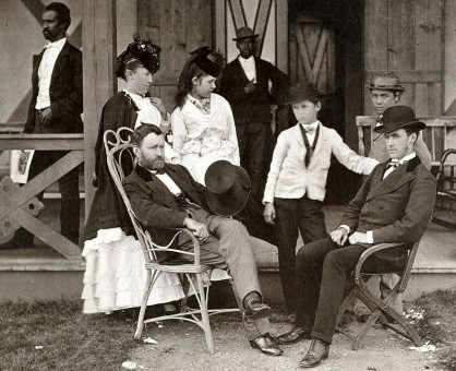 President U.S. Grant and Family in 1870