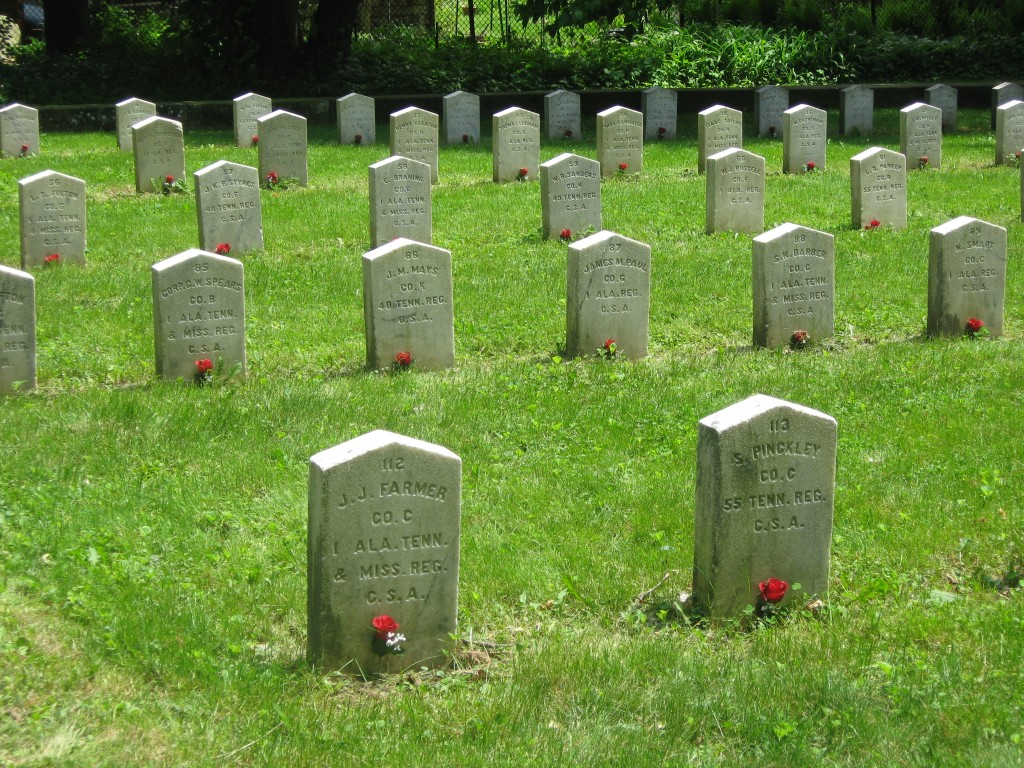 Confederate Graves in Madison, Wisconsin