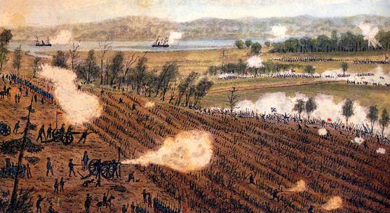 Battle of Malvern Hill by Robert Sneden
