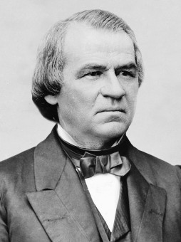 President Andrew Johnson