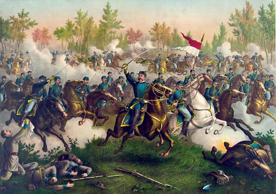 The Battle of Cedar Creek by Kurz and Allison