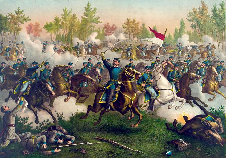 The Battle of Cedar Creek by Kurz and Allison