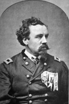 Samuel Chamberlain 1st Massachusetts Cavalry
