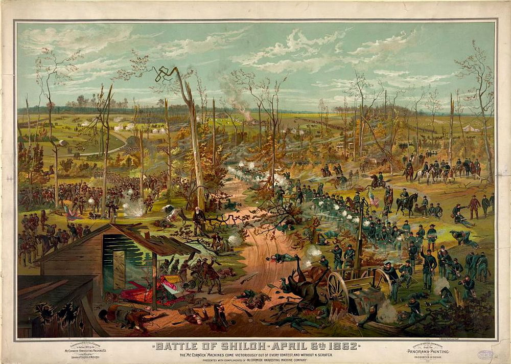 Battle of Shiloh April 6th 1862