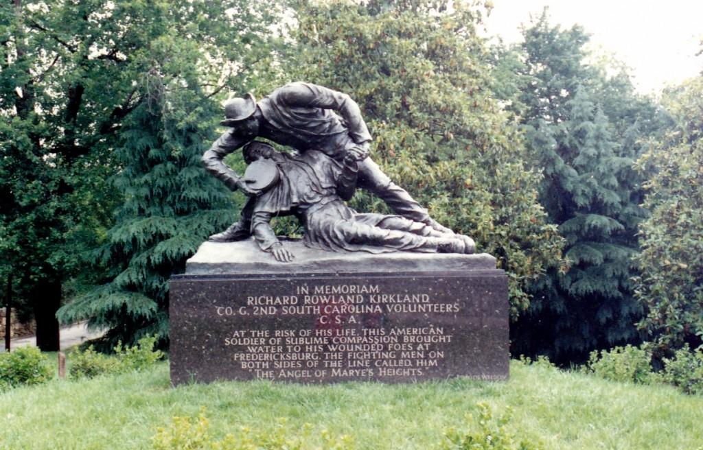 Richard Kirkland Memorial, Fredericksburg, Virginia