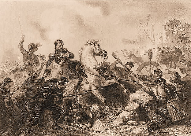 Fall of General Lyon at Wilson's Creek