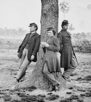 Officers From Company C 1st Connecticut Heavy Artillery