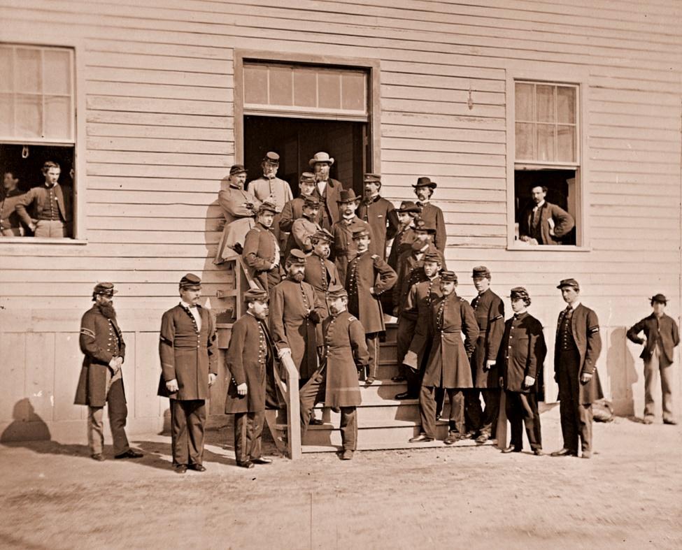 Surgeons and Hospital Stewards at Harewood Hospital Washington DC